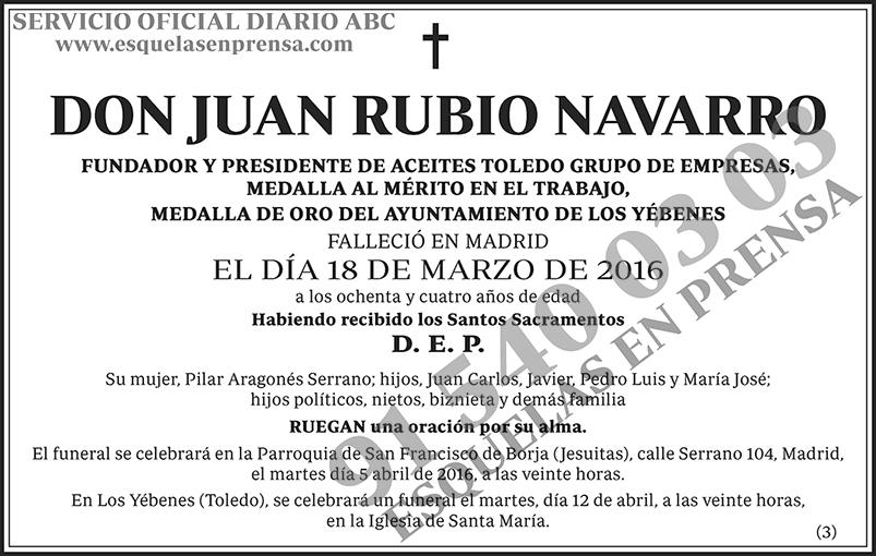 Juan Rubio Navarro